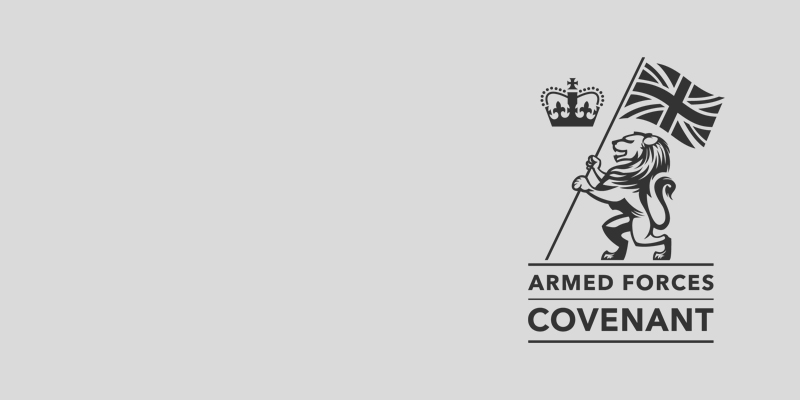 Armed Services Covenant – we've signed!