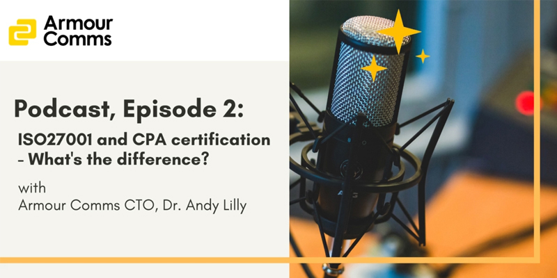 ISO27001 and CPA certification – What's the difference?