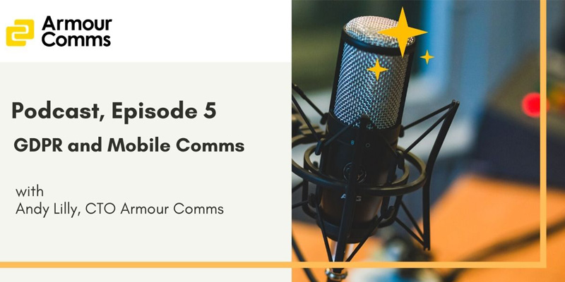 GDPR and Mobile Comms