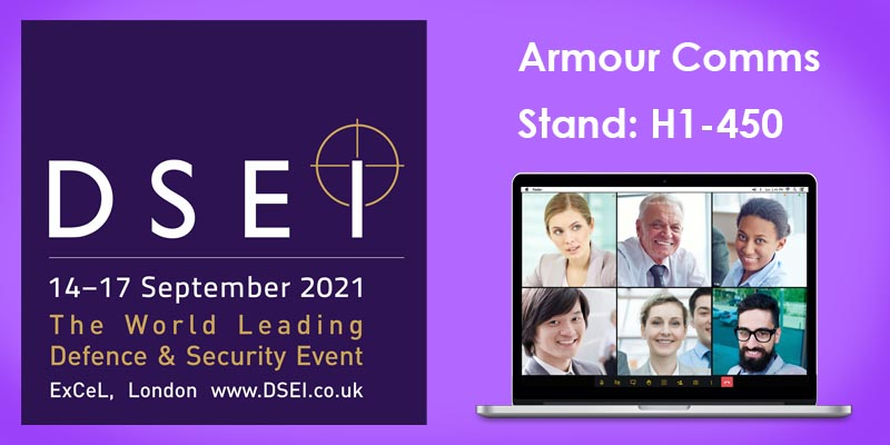 Armour Comms showcases new secure collaborative working solutions with MOD and Bittium at DSEI
